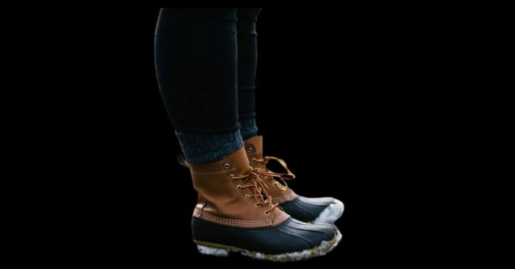 Waterproof Leather Boots For Winter