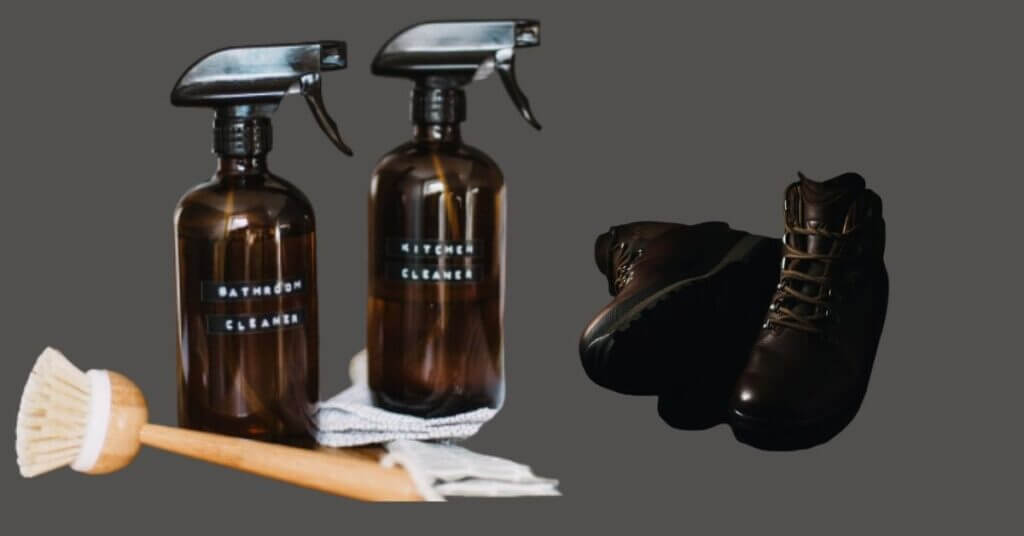 Waterproofing winter leather boots