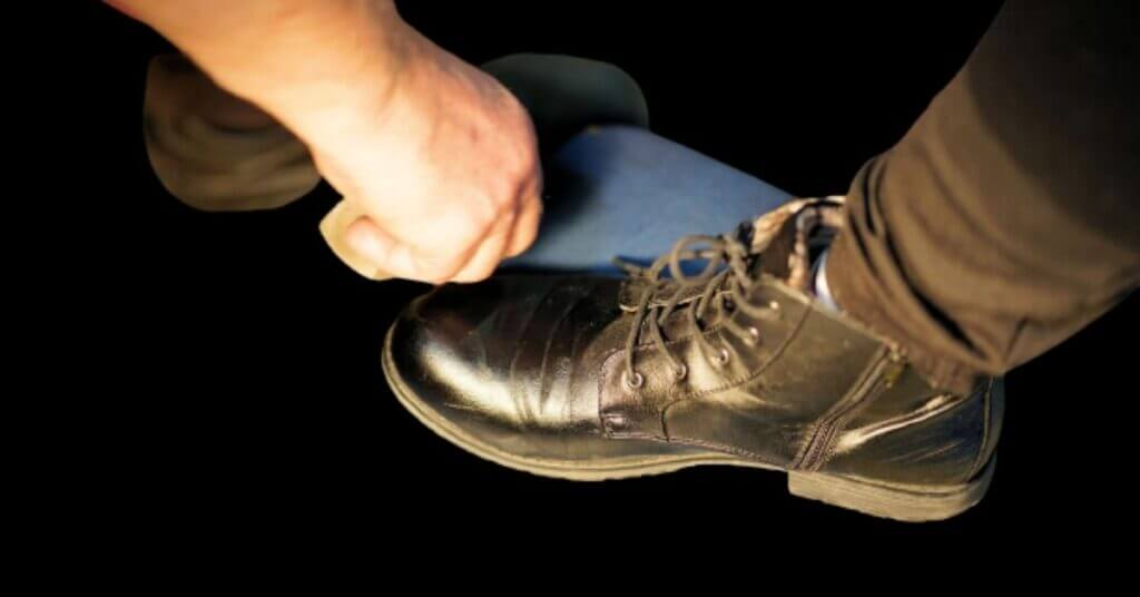 dry your leather boots