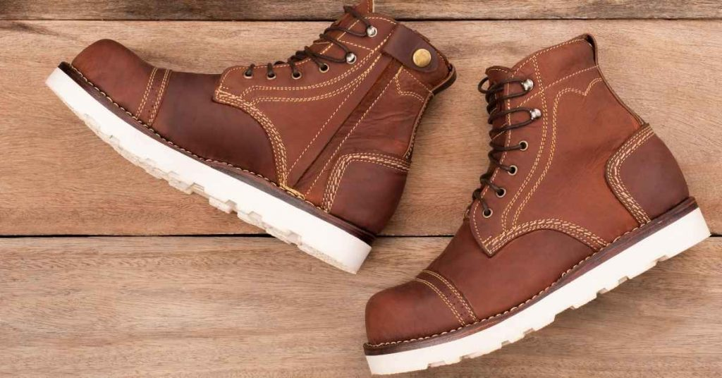 stretch steel toe boots