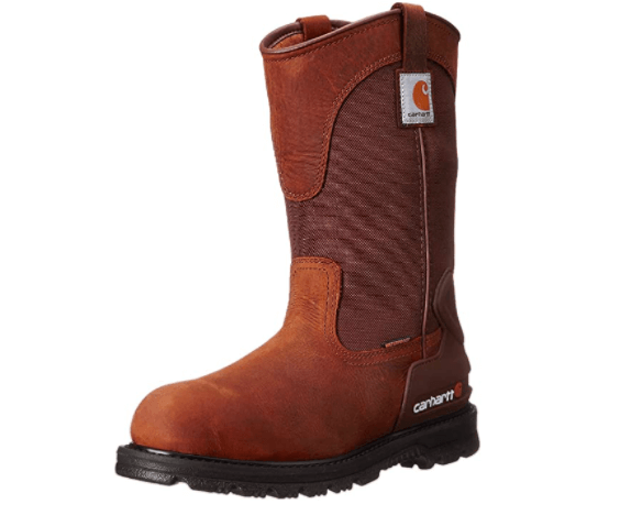 Carhartt Wellington Work Boot: (safety boots for men's)