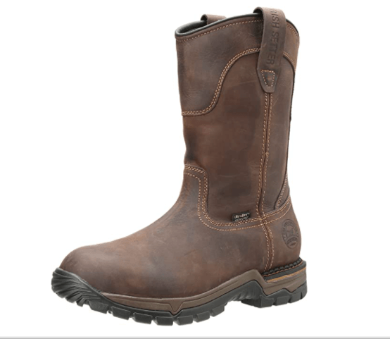 Irish Setter Men's Work Boot: (ideal for indoors and outdoors)