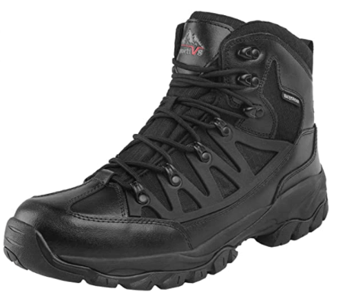 NORTIV 8 Men's Waterproof Hiking Boots: (Best For Outdoor Adventures)