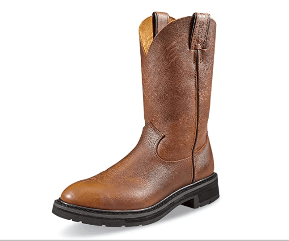 Guide Gear Work Boots: (perfect for farms & construction sites)