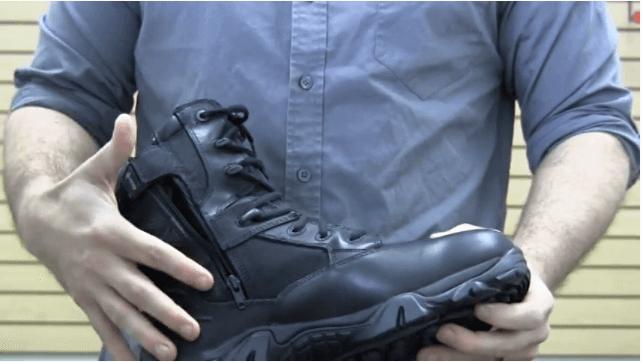 Waterproof Side Zippers work Shoes