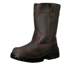 Avenger Safety Pull-on work boot: (Women safety shoes)