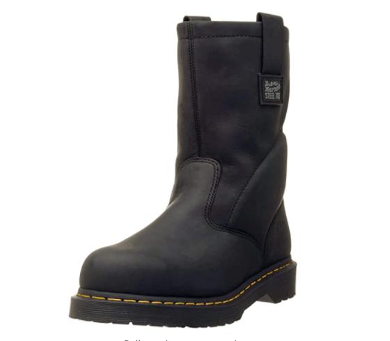 Dr. Martens, Men's Steel Toe Boots: (best Industrial work boots)