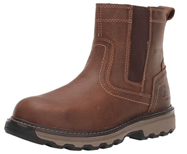 Caterpillar Slip-on Steel Toe Industrial and Construction Shoes