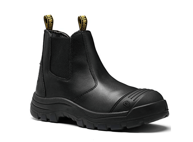 ROCK POSTER Men's Slip Resistant Safety Working Boots