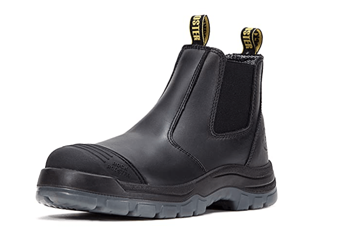 ROCKROOSTER Work Boots for men: (Top rated slip-on boots)