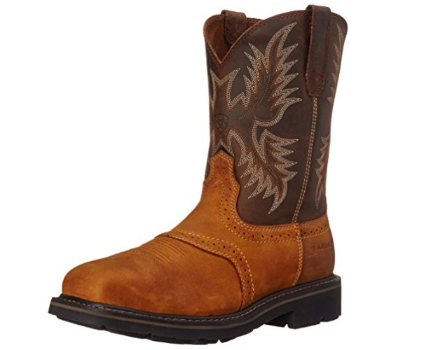 Ariat Wide Square Toe work Boots: (safe for electrical hazard)