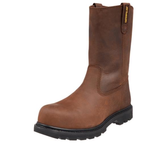 Caterpillar Work Boot: (men's waterproof pull on boots)