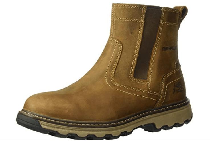 Caterpillar Men's Pelton: (slip-on safety toe shoes)