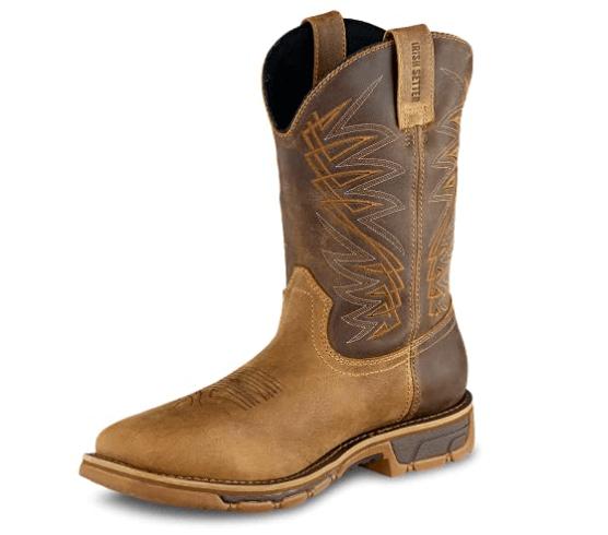 Irish Setter Work Boot: (best slip-on work boots for concrete)