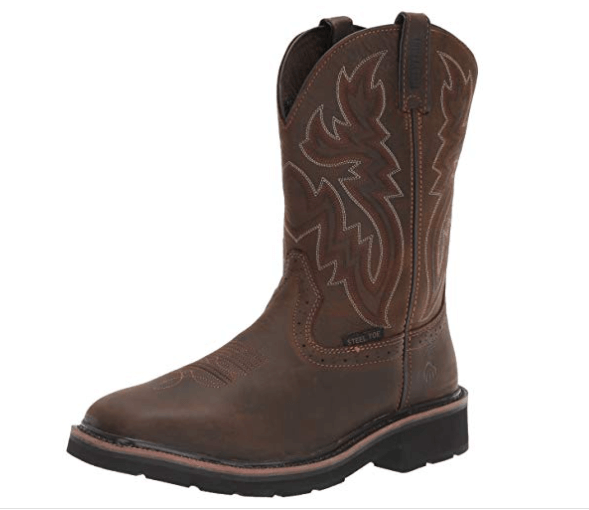 Wolverine Men's Steel Toe Work Boot:(good slip-on work boots)